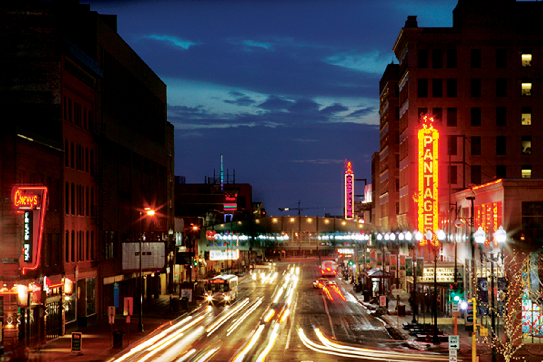 Mpls. Hennepin Avenue | Mary Benson